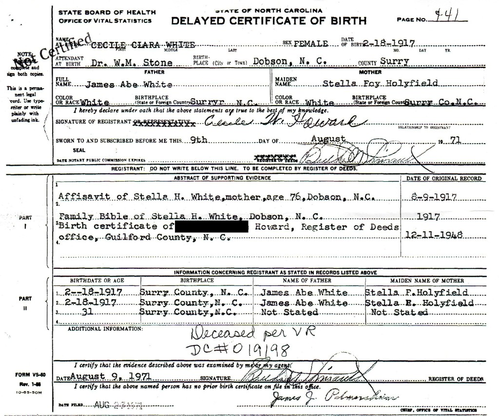 5 Things To Be Learned From A Delayed Birth Certificate