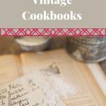 vintage cookbook pin