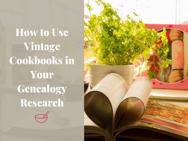 Besides great recipes, did you know there is a wealth of genealogical information found in historical church and local cookbooks?