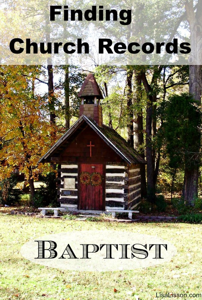 Finding North Carolina Baptist Church Records