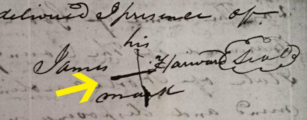James Harward Signature Mark