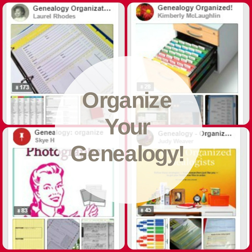 Organizing your genealogy records does not have to be overwhelming. Really, it doesn't.