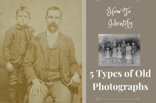 Trying to identify your ancestor in that old family photograph? Start by learning the different types of antique photographs?