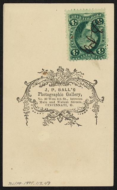 Example of a Tax Stamp