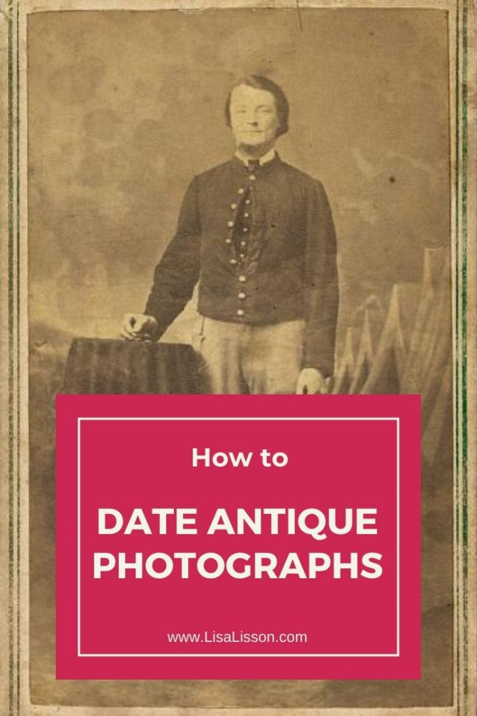 Antique photographs can be hard to identify. Learn how the presence of a tax stamp can help.
