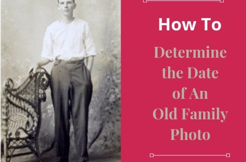 Do you have old family photos in your closet? Wondering which ancestor is in those photographs? Explore 5 tips for dating your old family photos - the first step in the process.