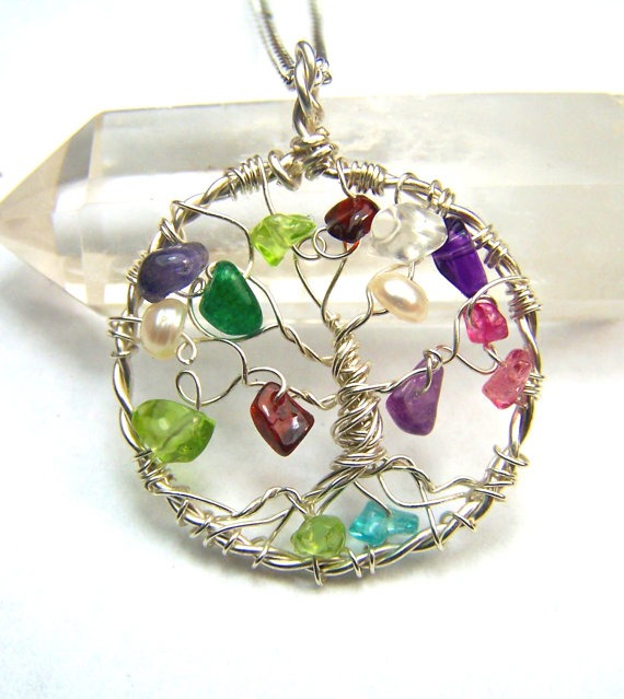 A Family Tree necklace is the perfect Mother's Day gift.