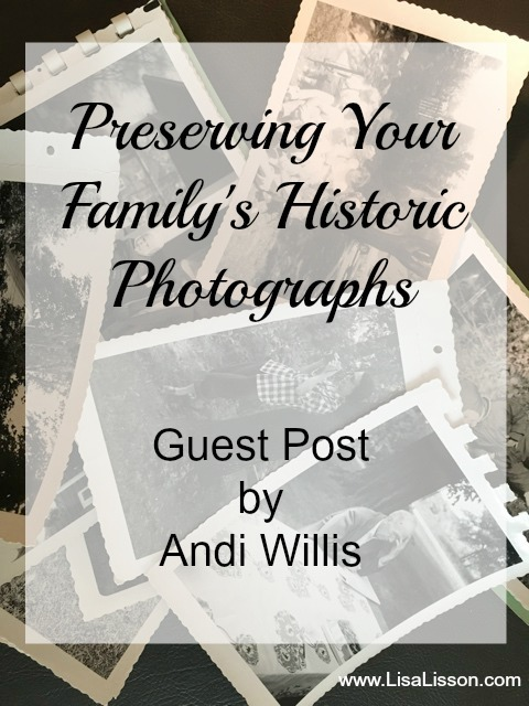 Learn how to preserve your family's heirloom photographs. Organize and preserve your photographs for future generations!