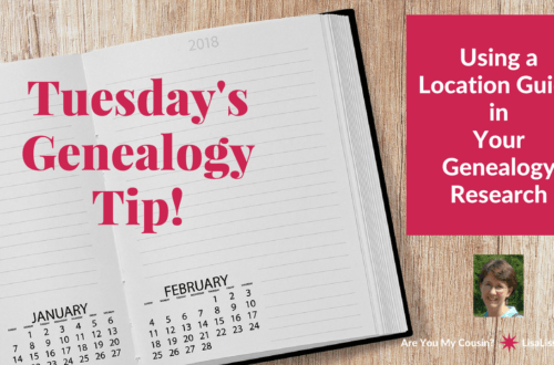 Did your ancestors move around? If so, improve the efficiency of your genealogy research by creating your own personalized genealogy research location guide.