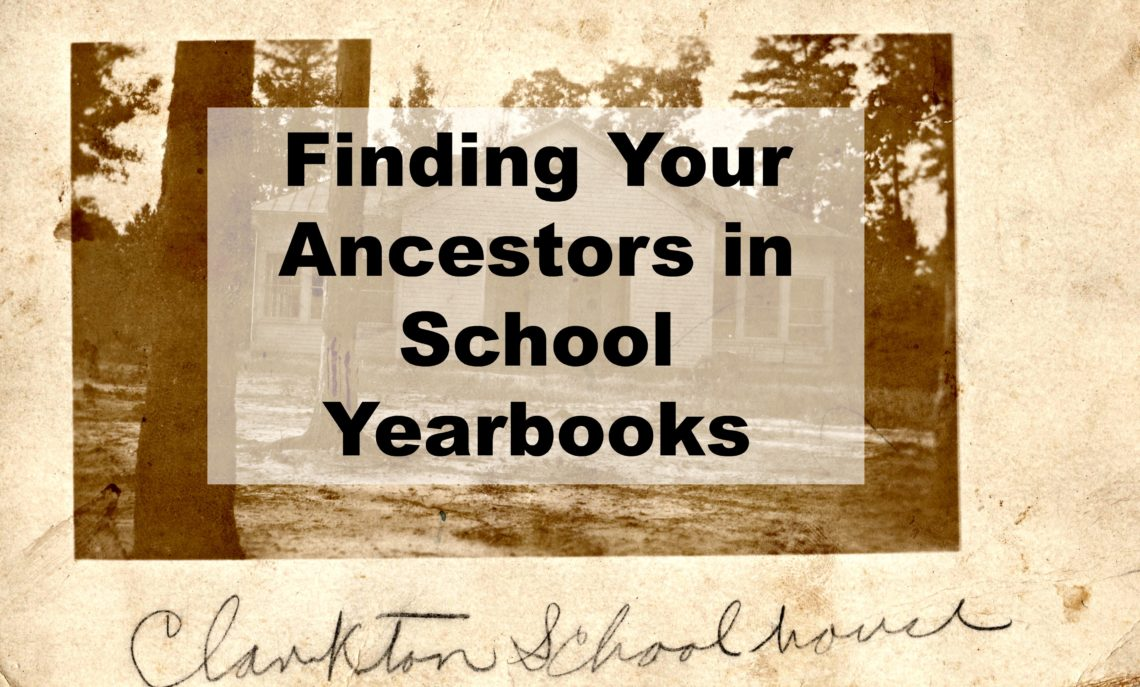 "Yearbooks can be a fantastic resource to find your ancestor's photograph. They have been popular for many years and can be found for dating back to the 1800's. Besides photos, genealogists can learn about an ancestor's personality, too. Let's take a closer look at these ""out of the genealogy box"" records."