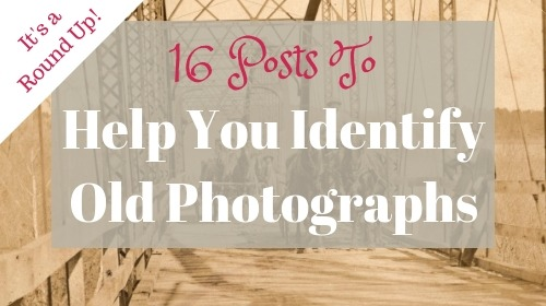 Techniques and strategies to identify old photographs. Find the age of a photo and other important clues to learn who is in your old family photos.