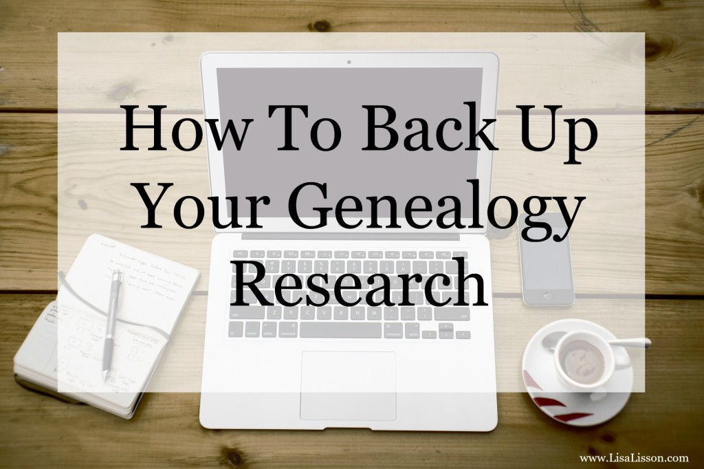 Could this happen to you? Are your genealogy files at risk for being lost if your computer gives out?