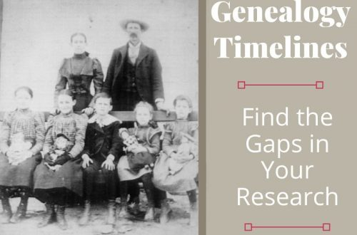 Genealogy timelines help reveal gaps in your research. They are easy to create and can help move your ancestor research forward.