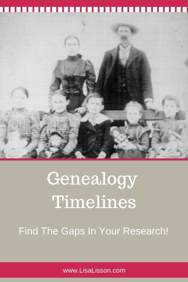 Is your genealogy research stuck? Try creating a genealogy timeline for your ancestor. It's a great way to find gaps in your research.