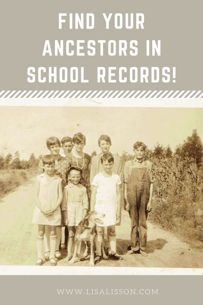 Have you explred school records for your ancestors? Did you know these can serve as a partial alternative to the loss of the 1890 census? Learn how to find your ancestors in the school records. #genealogy #schoolrecords #ancestors