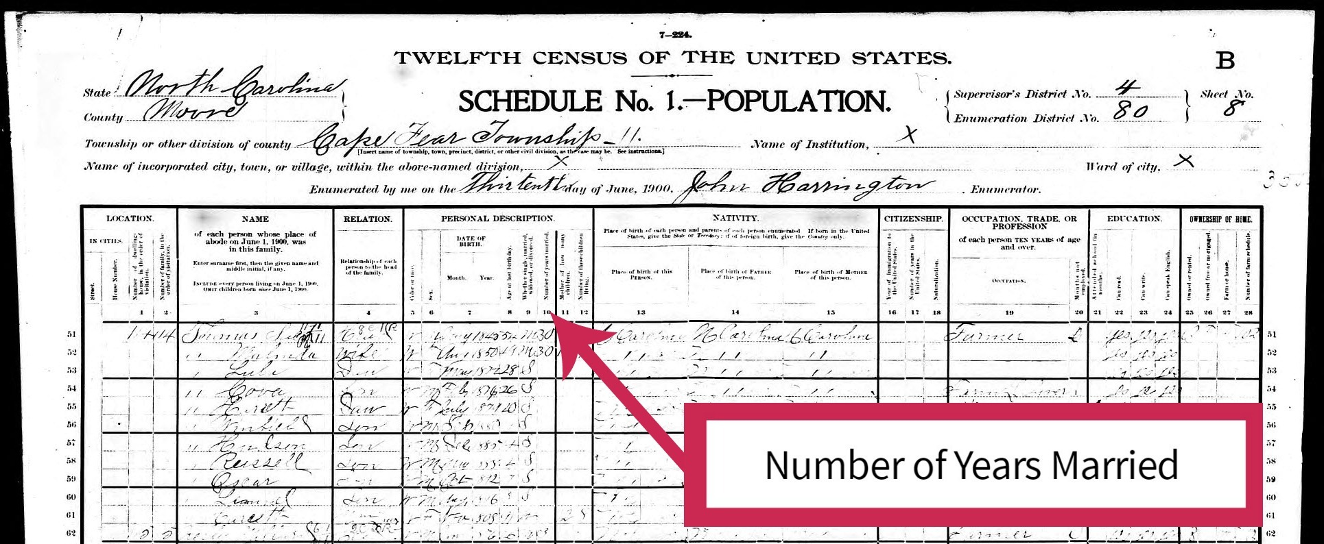 Wondering what types of genealogy records hold clues to your ancestor's marriage? Use these 7 resources and tips to move your genealogy research forward. #genealogy #ancestors #familyhistory