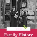 family histry gift guide pin