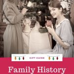 family history gift ideas pin