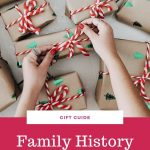 family history gifts guide for the holidays