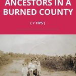 burned county genealogy research