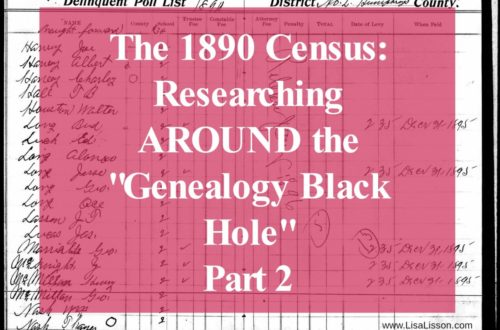 Help for finding your ancestors in the absence of the 1890 census.