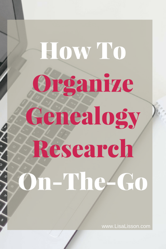How to organize genealogy research is a common question. Researching at home or on the go, the best genealogy organization system is one you use regularly.