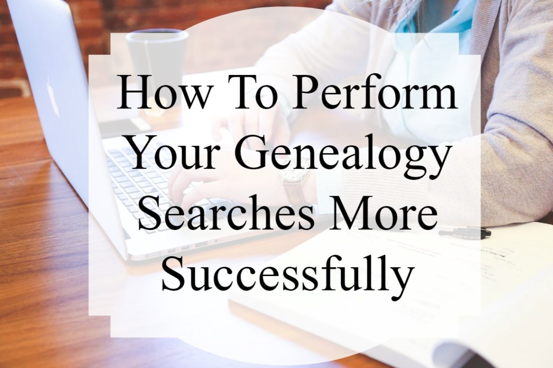Make sure you are getting the most out of your genealogy searches. Learn basic search principles and how to filter results for your ancestor.