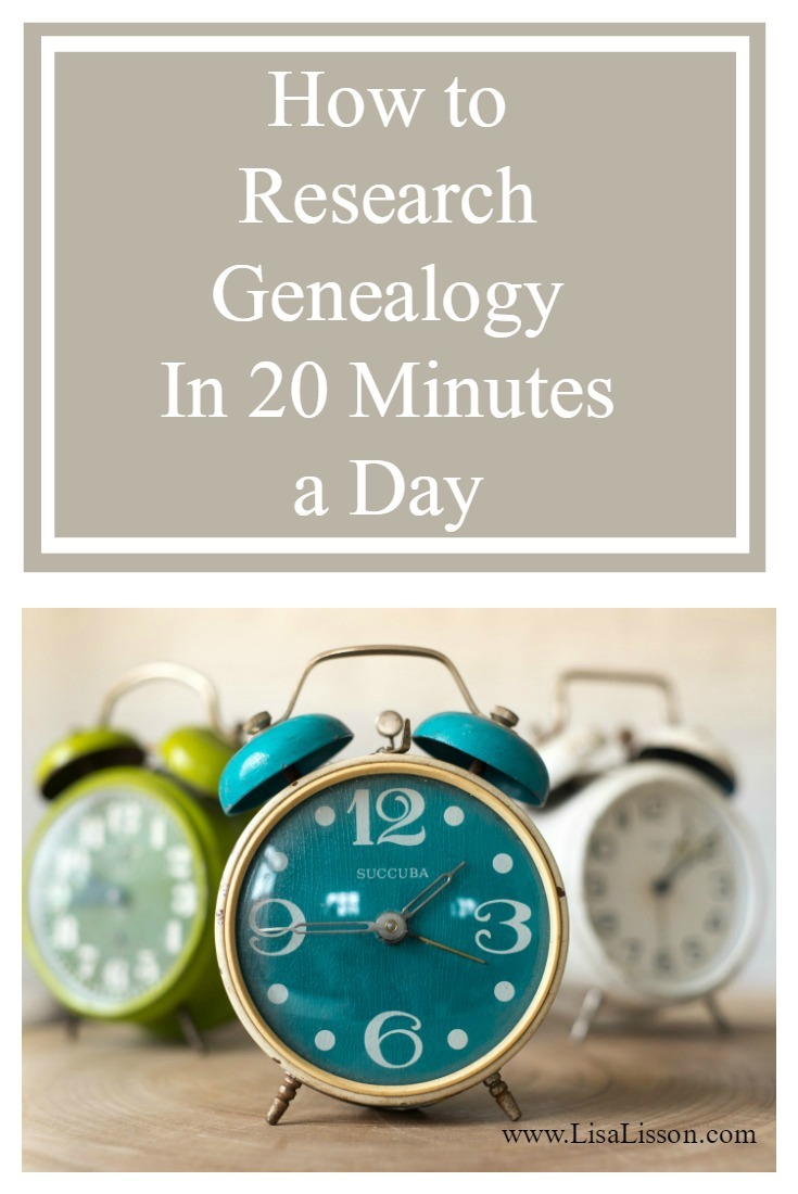 Researching your ancestors is exciting, fascinating, overwhelming and time consuming. Most of us don't have 2-3 hours a day to research. We do need to sleep sometime.