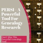 persi for genealogy reserch and card catalog