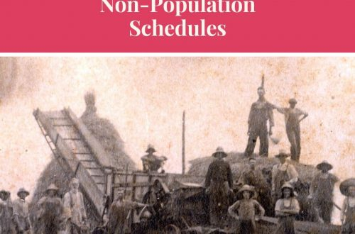 non-population schedules