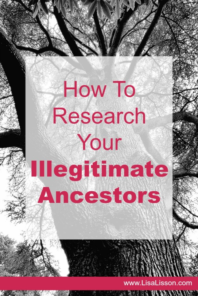 Pin for How to research and find an illegitimate ancestors