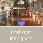 ellis island hall where immigrant ancestors arrived