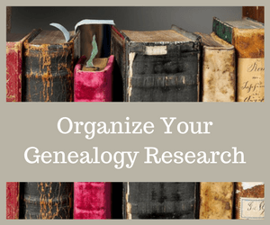 How to organize genealogy research and records is a challenge for many researchers. The key to success is finding a system that works for you!