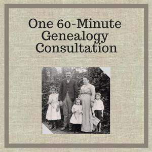 60 Minute Genealogy Consultation