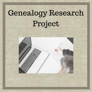 Genealogy research project