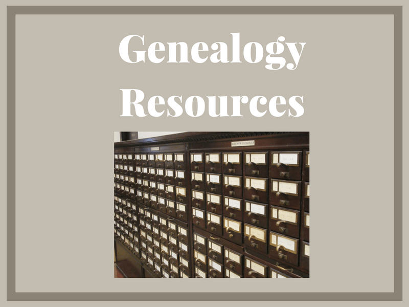 Knowing the genealogy resources to use for your specific research project will make you you a more efficient and successful researcher.