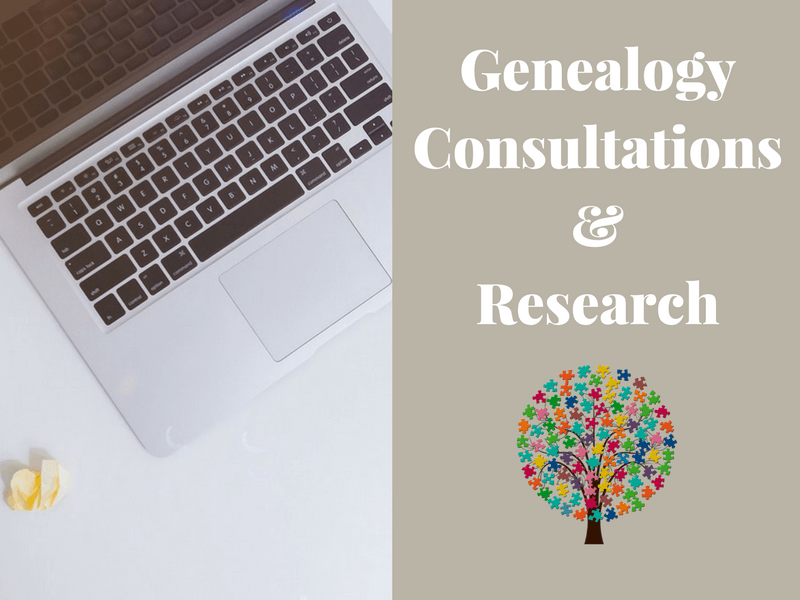 Genealogy Consultations and Research