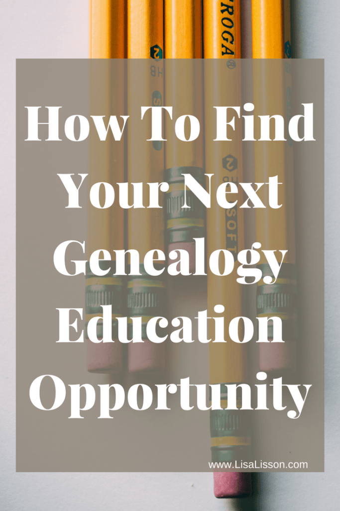 Many online genealogy education opportunities can be found. Whether short videos or a full online class, everyone can further their genealogy education.