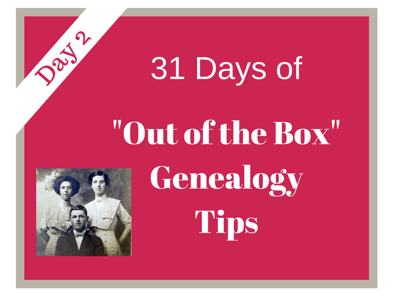 """Day 2 of """"31 Days of Out of the Box Genealogy Tips"""" involves exploring genealogy wikis. Wikis can be another source to find valuable clues to use in your research. #genealogy #genealogytips #areyoumycousin #ancestors #familyhistory"""