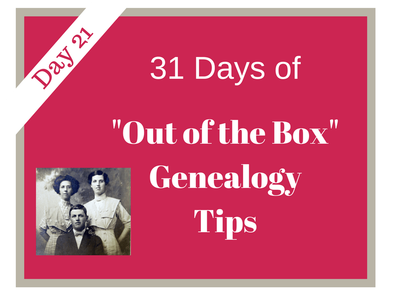 Enhance your genealogy research by seeking out and researching materials found in private collections. Family letters, business papers......