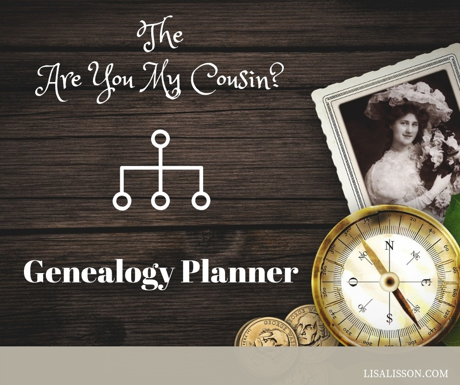 The Are You My Cousin? Genealogy Planner