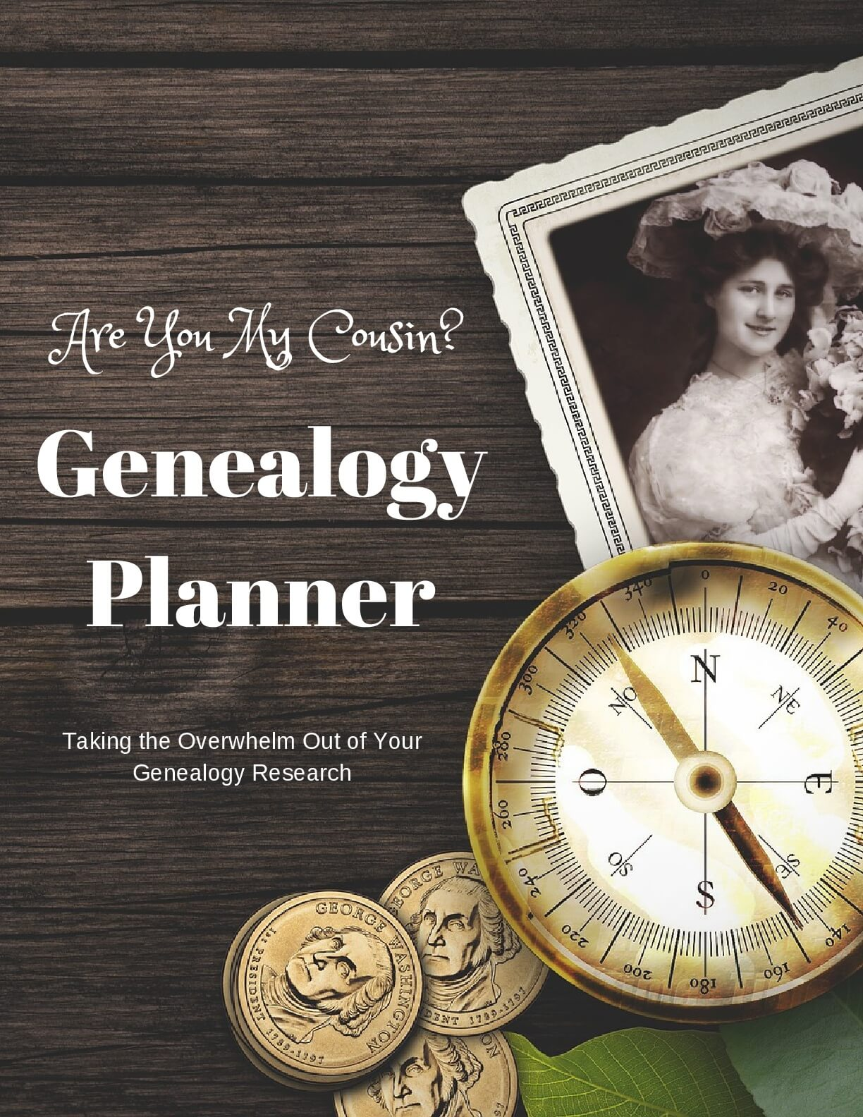 The Are You My Cousin? Genealogy Planner is designed to help take the overwhelm out of planning and organizing your genealogy research.