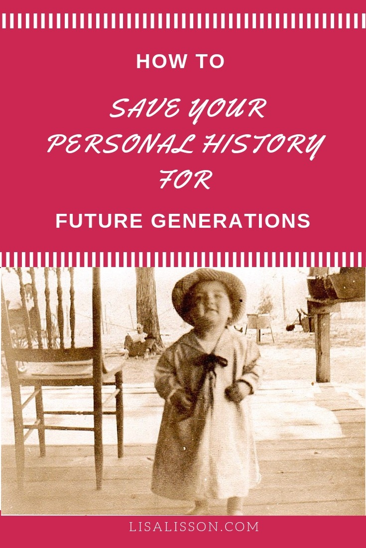 Genealogy research is not just about past generations. Saving your personal history is crucial for connecting future generations to their pasts. #genealogy #familyhistory #areyoumycousin