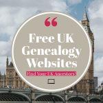 Free UK genealogy websites