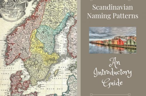 Learn about Scandinavian naming patterns in this introductory guide. Get started finding your Scandinavian ancestors. #genealogy #ancestors #Scandinavian