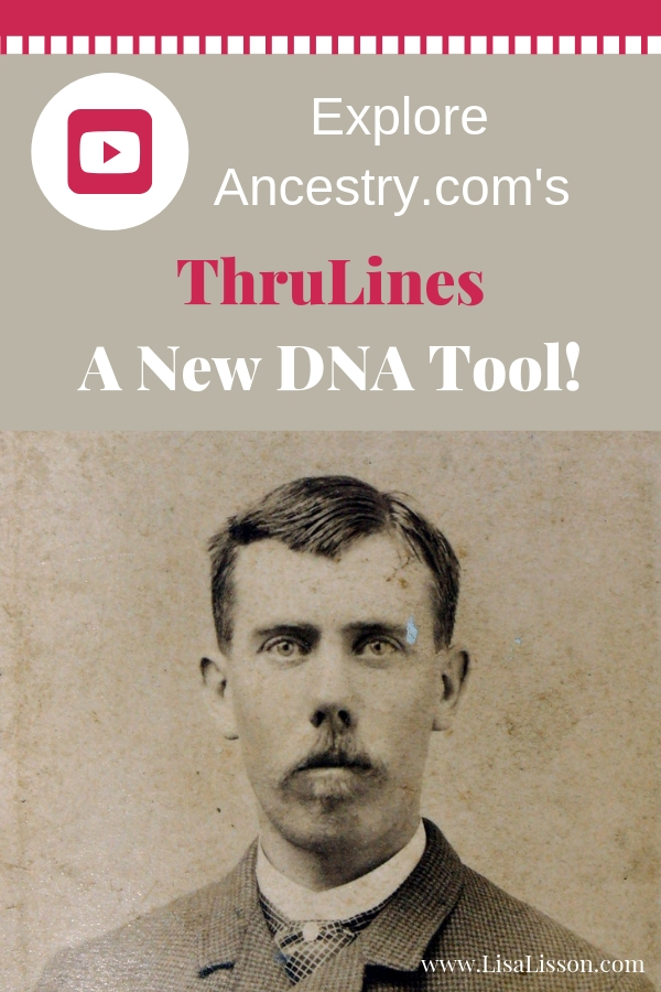 Not familiar with Ancestry.com's new DNA tool ThruLines? Learn how to find more clues in your genealogy research using ThruLines in this video. #genealogy #ancestry #DNA