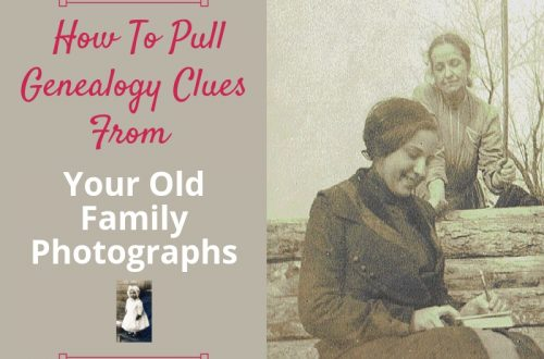 Are you finding all the genealogy clues hidden in your old family photos? Use those vintage photos of your ancestors to learn more about your ancestors. #genealogy #theimagealliance #realcamerasrock