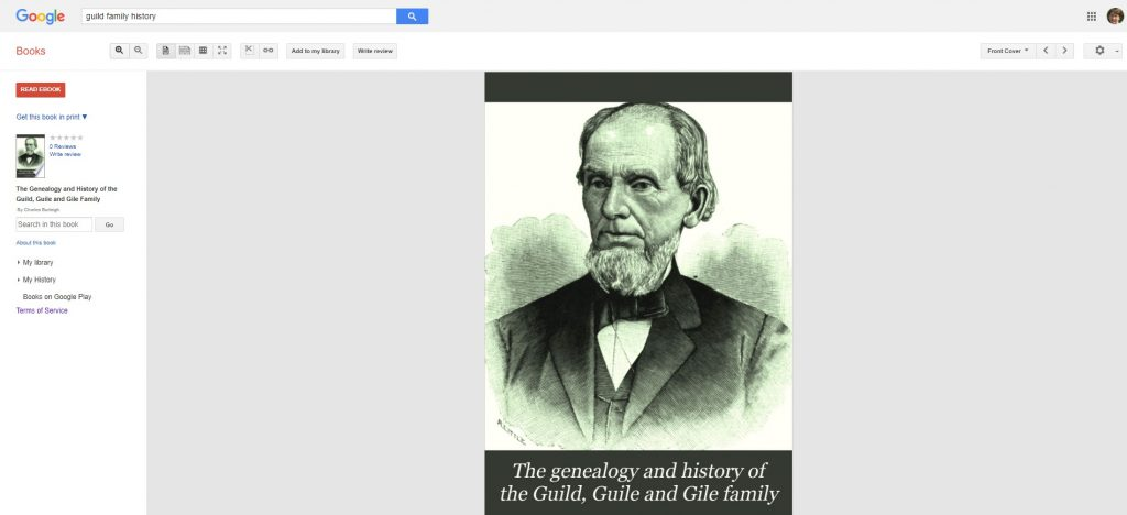 Are you overlooking this free source of genealogy ebooks? Explore how to use Google books to find thousands of free family histories! #genealogy #ancestors #familyhistory