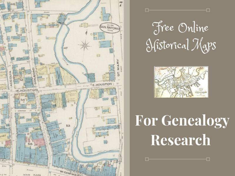 It's all about location! Using historical maps will boost your genealogy research. Place your ancestors on the map!