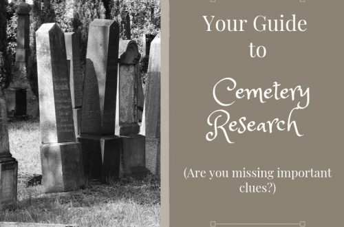 Are you missing out on important genealogical clues? Use this guide to cemetery research the next time you visit the family cemetery.